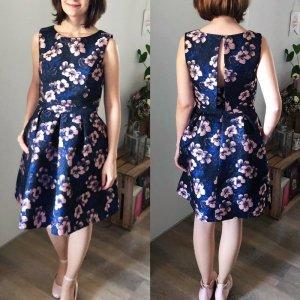 Kleid von Jake's Abendkleid blau Cocktailkleid