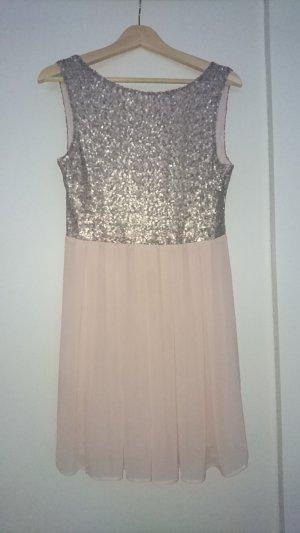 Kleid von Jake*s in Gr. 38 rosé mit Pailletten