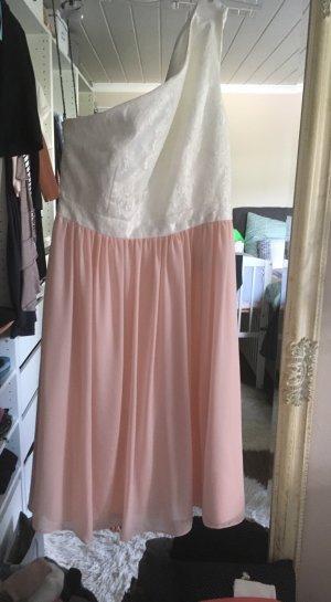 Kleid von Jake's in rosa weiß Größe 34