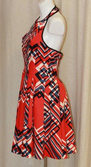 Kleid von Jessica Simpson Farbe rot Größe 4 / 34/36 NEU!!