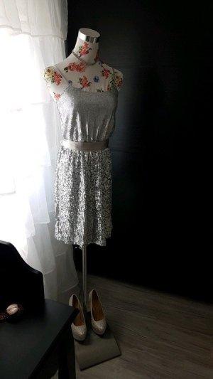 Laura Scott Abito con paillettes argento
