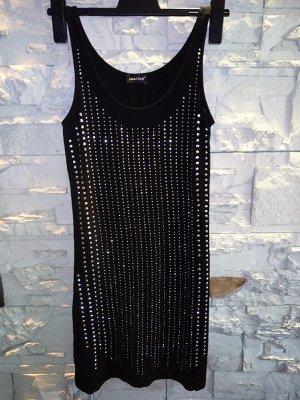 Kleid von Laura Scott in gr 38 Schwarz Nieten