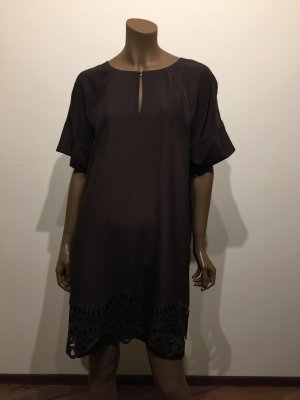 Laurèl Cut Out Dress dark brown-black
