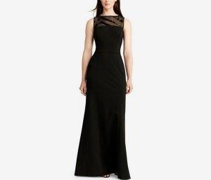 Kleid von  Lauren Ralph Lauren Abendkleid schwarz 36 S Neu  Elasthan