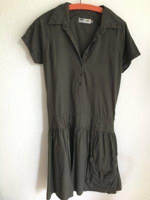 Kleid von Lee in oliv