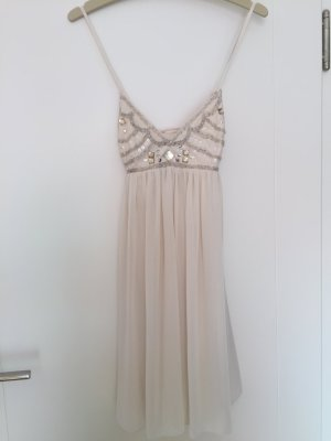 Lipsy Babydoll Dress cream
