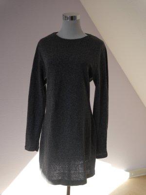 Kleid von Mango aus Wolle /Seide Langarm Herbst Winter Rundhals Reisverschluss  hinten