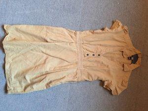 Kleid von Mango beige