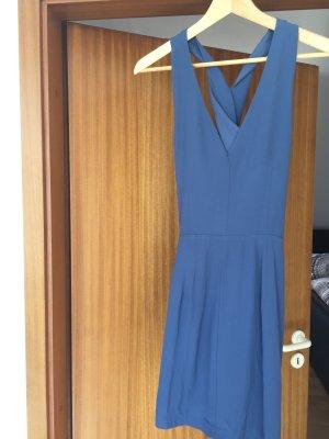 Kleid von Mango blau