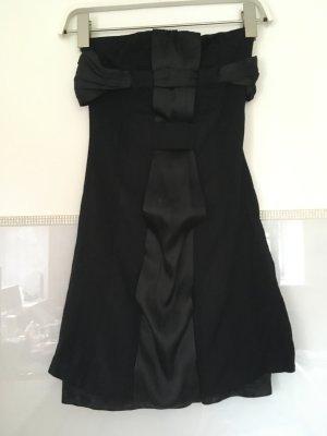 Kleid von Mango in schwarz Bandeau Größe XS
