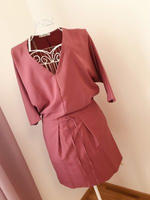 Mango Suit Abito midi rosa