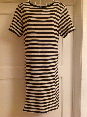 Kleid von Marc O'Polo * dunkelblau/creme gestreift * Gr.36 * wie neu