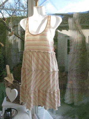 Kleid von MOSCHINO in zartrosa/zartgrün/weiß