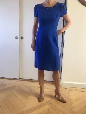 Oscar de la renta Stretch Dress steel blue