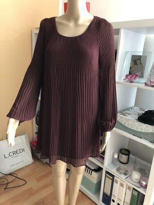 Phase eight Chiffon jurk bruin-paars
