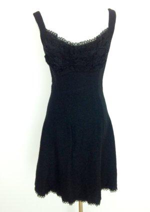 Prada Vestido negro Lana