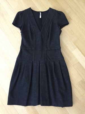 Prada Midi Dress anthracite wool