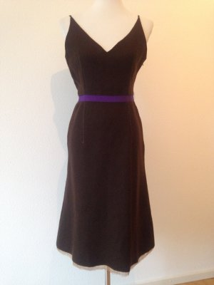 Prada Dress dark brown-dark violet wool