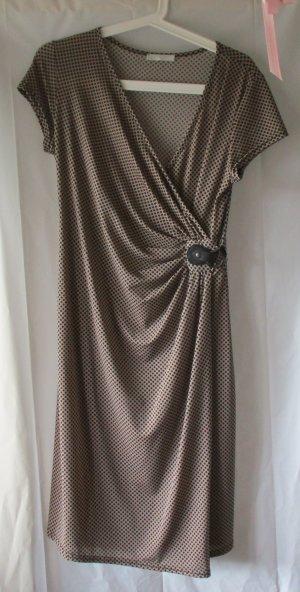 Kleid von Promod mit Wickeldetail, Gr. 42