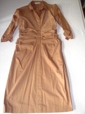 Kleid von Renè Lezard, Gr. 38, braun, 3/4 Arm