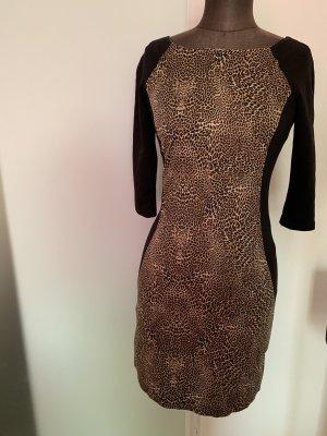 Kleid von Reserved Gr 34 XS Leoparden Muster