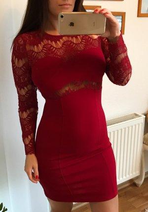 Kleid von Sally & Circle Gr.XS Neu Rot