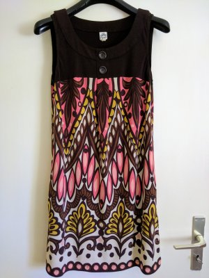 Sangria Empire Dress multicolored synthetic