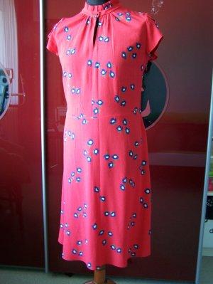 Kleid von SET, Gr. 42, NEU, Seide +Viscose, Rot, ohne Futter