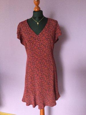 Kleid von SET mit Animalprint Gr. 40 (fällt kleiner aus)