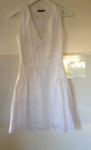 Kleid von Sisley in weiß Größe XS