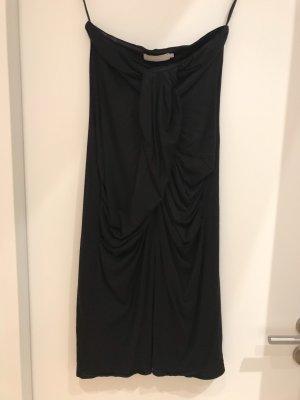 Stefanel Vestido bustier negro