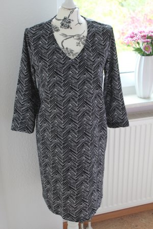 Suncoo Robe noir-blanc