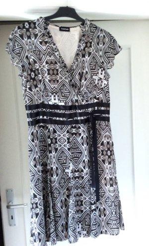 Kleid von Taifun Black & White Muster