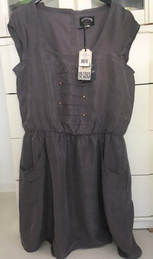 Tommy Hilfiger Denim Babydoll-jurk grijs-paars