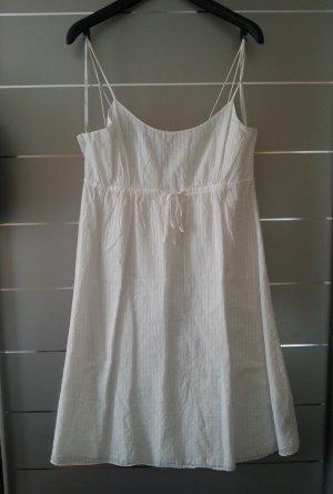 Kleid von Tommy Hilfiger, weiß, Größe 40 / L, Sommerkleid