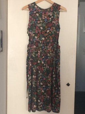 Topshop Robe mi-longue multicolore