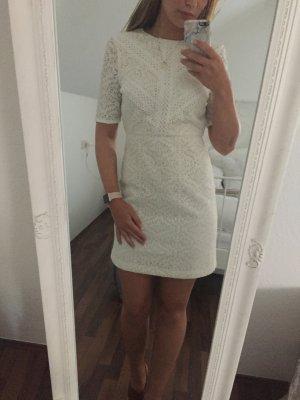 Kleid von Topshop in Weiß