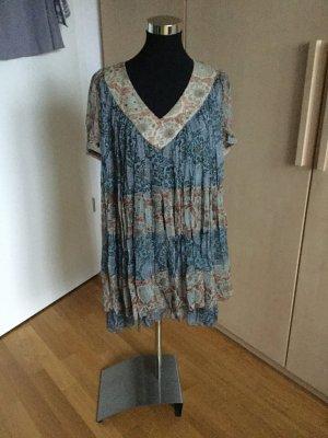 Twin-Set Simona Barbieri Chiffon Dress multicolored viscose