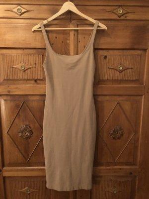 Kleid von Uara Nude neu Gr  s Rose eng anliegend