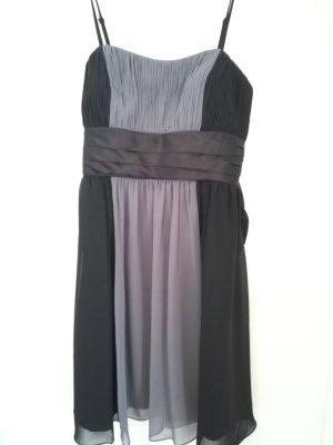 Kleid von Unique. Grau schwarz festlich