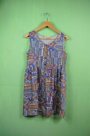 Kleid von Urban Outfitters / Bunt / Gemustert