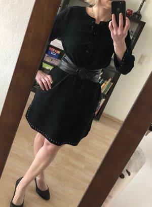 Velvet by Graham & Spencer Vestido tipo túnica negro