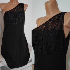 Vero Moda Vestido de un hombro negro