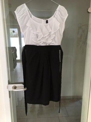 Kleid von Vero Moda, Größe S, schwarz/weiss