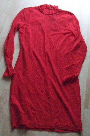 Vero Moda Longsleeve Dress red polyamide