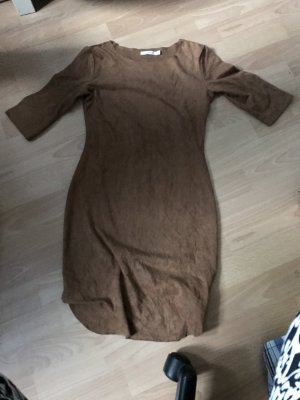 Hippie Dress brown-bronze-colored
