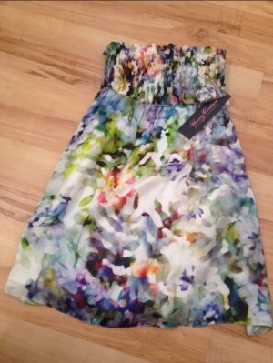 Young Couture by Barbara Schwarzer Bandeau Dress multicolored