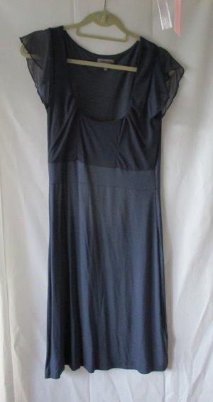 Kleid von Zalando, blau mit Meshanteil, Gr. L