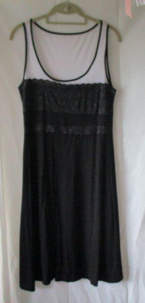 Kleid von Zalando, schwarz/weiß, Gr. L