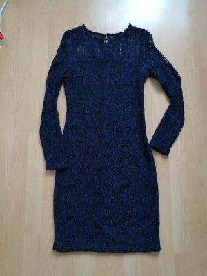Zara Robe bleu foncé